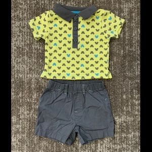 Disney Infant Outfit 0-3 Months